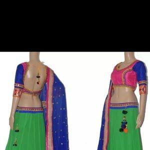Dresses - Chaniya choli Indian outfit
